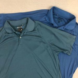 Adidas | [BUNDLE OF 2] ClimaCool Golf Polo's -M